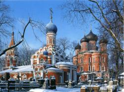 Donskoy Monastery Moscow | Donskoy monastery. Is a major monastery inMoscow, founded ...