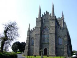 Down Cathedral Downpatrick   St.Patricks in Ireland, on site is what is said to be the grave of ...