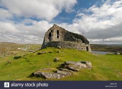 Dun Carloway The Northern Highlands and the Western Isles | Dun Carloway Broch Iron Age Stone Dwelling, Lewis, Western Isles ...