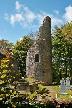 Dysert O'Dea Corofin | Dysart O'Dea Round Tower, Corofin, Co. Clare via Irish Dew. | i ...