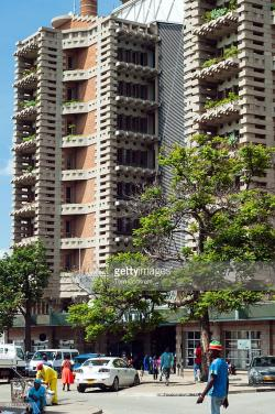 Eastgate Centre Harare | Eastgate Centre Harare Stock Photo | Getty Images
