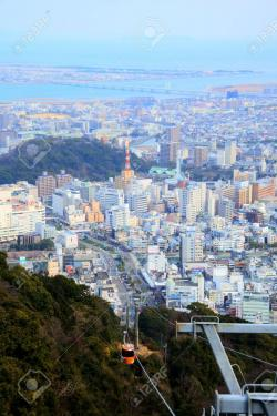 Edo Shitamachi Traditional Crafts Museum Tokyo | Tokushima City From Mt. Bizan Stock Photo, Picture And Royalty ...