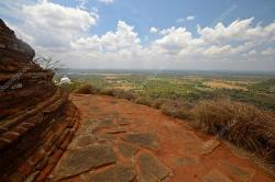 Et Vihara Mihintale | Panoramic view of Mihintale — Stock Photo © fbxx #19579913