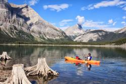 Fairmont Banff Springs Banff Town   Family Adventures in the Canadian Rockies: Family Canoeing and ...