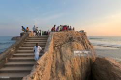 Flag Rock Galle | Flag Rock At Sunset Galle Sri Lanka Stock Photo | Getty Images