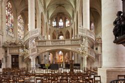 Fondation Henri Cartier-Bresson Paris | Photostock Arnaud Frich rood screen and choir of saint Etienne du ...