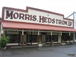 Levuka Museum Levuka | Morris Hedstrom, a pacific-wide chain started here in the original ...