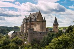 Vianden Castle The Luxembourg Ardennes | Visiting Luxembourg: Accommodation, Transport, Food & Attractions ...
