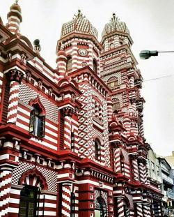 Grand Mosque Colombo | Grand mosque - Colombo, Sri Lanka | beautiful mosques of the world ...