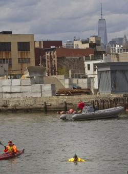 Grant Square New York City | Brooklyn, NY - Activist Abandons Earth Day Swim In Polluted New ...