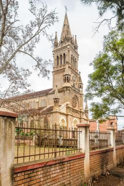 Hôtel des Thermes Antsirabe | Cathedral Of Notre Dame Salette In Antsirabe Stock Photo - Image ...