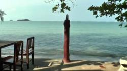 Haad Khlong Phrao The Gulf Coast Beaches | Breakfast at the Tiger Huts, Hat Khlong Phrao beach, Koh Chang ...