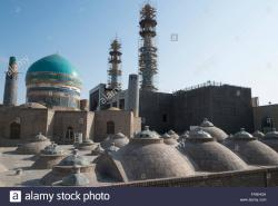 Haram-e Razavi Mashhad | Around the Shrine complex. Haram e Razavi. Mashhad. Iran Stock ...