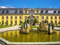 Herrenhausen Palace and Gardens The Fairy-Tale Road | Belvedere palace map | Bucket List - Vienna | Pinterest | Palace