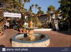 Hillcrest Farmers Market San Diego | fountain in front of the mexican Restaurant Fiesta de Reyes, Old ...