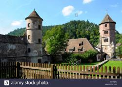 Hirsau The Black Forest | Black Forest, Hirsau, Monastery of St. Peter and Paul, arched ...