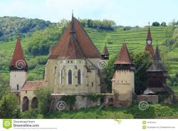 Histria Archaeological Complex & Museum Black Sea Coast & Littoral | Biertan fortified church stock photo. Image of daytime - 27591544