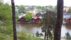Home of J. L. Runeberg Side Trips from Helsinki | Porvoo - A day trip from Helsinki - Girl and backpack
