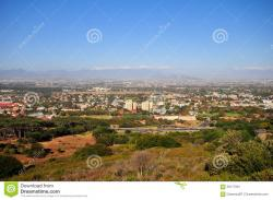 Hora Rhodes Town | Cecil Rhodes Monument View - Cape Town, South Africa Stock Image ...