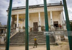 Hospital Mozambique Island | Mozambique Island Of Mozambique View Of Old Hospital Stock Photo ...