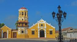 Iglesia Santa Bárbara The Caribbean Coast | heneedsfood.com for food & travel