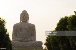 Indosan Nipponji Temple Bodhgaya | Buddha Indosan Nippon Temple Bodhgaya India Stock Photo | Getty Images