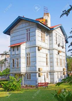 Iron House Maputo | Famous Iron House Build By Eiffel In The 19th Century In Maputo ...