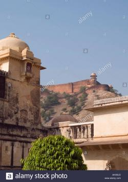Jaigarh Amber | Amber India. View of Jaigarh Fort from Amber Palace inside the ...