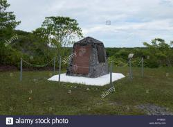 US Marine Corps Monument Peleliu | Peleliu World War Ii Stock Photos & Peleliu World War Ii Stock ...