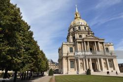Jardin du Luxembourg Paris | Eglise Du Dome Hotel Des Invalides Paris France Stock Photo ...