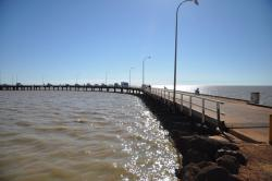 Jetty Derby | Panoramio - Photo of Derby jetty at high tide