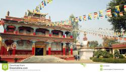 Karma Temple Bodhgaya | Karma Temple. Buddhist Temple In Bodh Gaya, India. Editorial ...