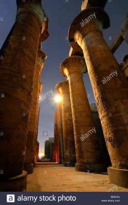 Karnak Temples The Nile Valley and Luxor | Karnak Temple, Nile Valley, Luxor, Egypt, Africa Stock Photo ...