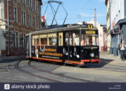 Kirnitzschtal Tram  Saxony, Saxony-Anhalt and Thuringia | Sachsen Germany Tram Stock Photos & Sachsen Germany Tram Stock ...