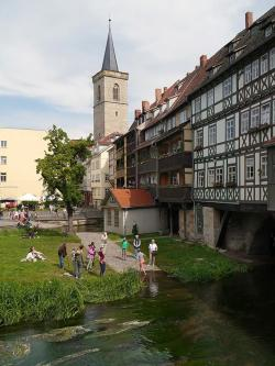 Krämerbrücke Saxony, Saxony-Anhalt and Thuringia | 646 best Erfurt images on Pinterest | Germany, Blog entry and ...
