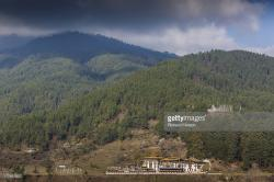 Kurjey Lhakhang Chokhor Valley | Kurjey Lhakhang Complex In The Chokhor Valley Stock Photo | Getty ...