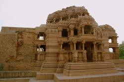 Lakshman Gate Gwalior | A Side View Of The Larger Of The Two Saas-Bahu Temples In The ...