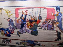 Last Invasion Tapestry South Wales   In Pursuit of The Worthwhile: Britain's Last Invasion
