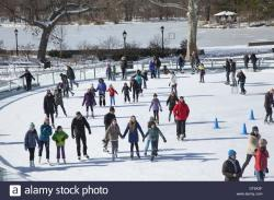 Like A Local New York City   People enjoy ice skating in Prospect Park at the new LeFrak Center ...