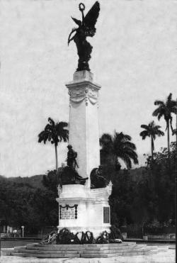 Lord Kitchener Monument Port of Spain | The Caribbean History Archives: Trinidadians who served in World War I