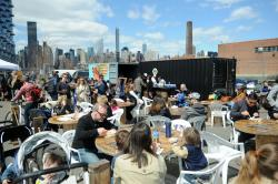 Louis Armstrong House Museum New York City | LIC Flea & Food beer garden offers drinks from six Queens ...