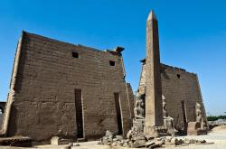 Luxor Temple Luxor   Luxor Temple Egypt dedicated to the pharaoh's worship