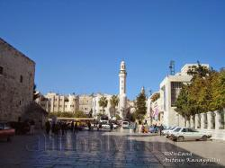 Manger Square Around Jerusalem and the Dead Sea | My Holy Land Trip
