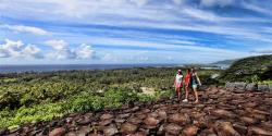 Matairea Hill Archaeological Sites Huahine | Island Eco Tours - Tours 4x4
