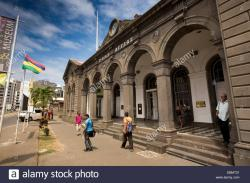 Mauritius Postal Museum Port Louis | Mauritius, Port Louis, Caudon Waterfront, historic colonial era ...