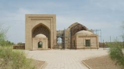 Mausoleums of Two Askhab Merv | Mausoleums of Two Askhab, Cemetery in Merv | Wanderant