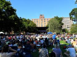 McCarren Park New York City | outdoor concert | All the Things... New York Jazz and More