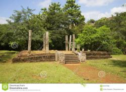 Mihintale Ruins Mihintale | Ruins Of An Ancient Buddhist Temple In The Monastery Medamaluva ...