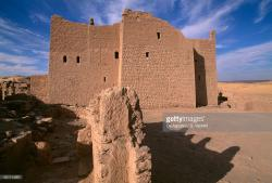 Monastery of St Simeon Aswan | Monastery Of St Simeon Aswan Egypt 7th 8th Century Stock Photo ...