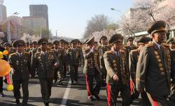 Monument to the Fallen Soldiers of the Korean People's Army Pyongyang | North Korea opens Ryomyong Street in Pyongyang | NK News - North ...